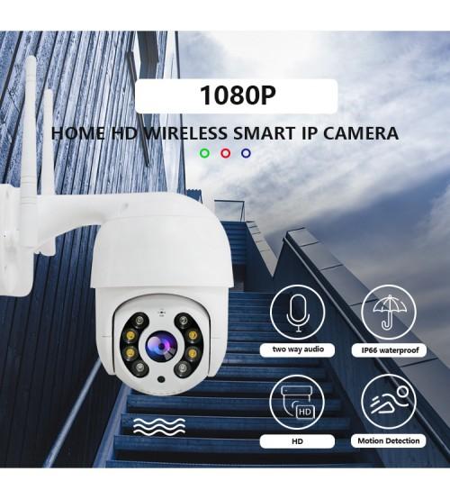 2MP безжична външна PTZ  камера DS-WFQA8 1080P с цветно нощно виждане до 40м.