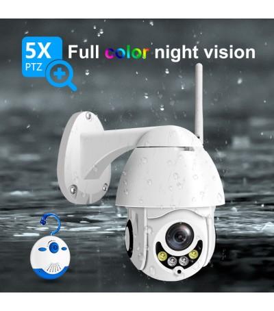 Wifi IP PTZ камера DS-PTZM12 5x ZOOM 1080P и запис на SD карта