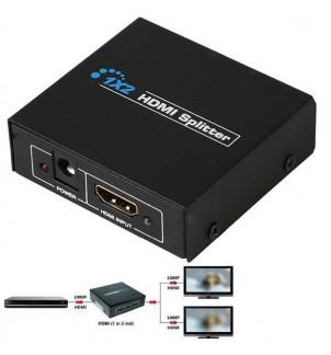 HDMI сплитер с 2 изхода FullHD 1080P
