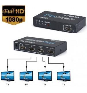 HDMI сплитер с 4 изхода FullHD 1080P 3D