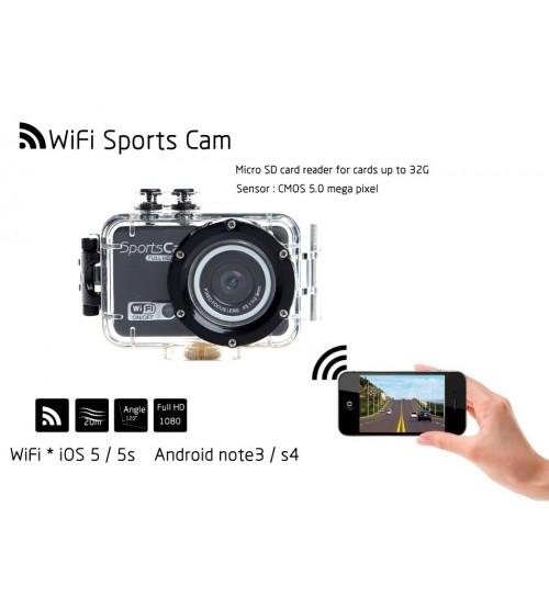Спортна камера Full HD F39 WiFi