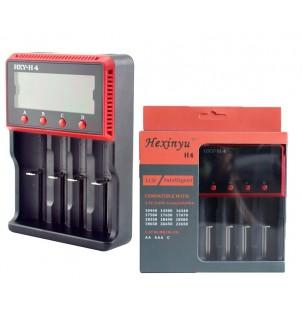 Интелигентно зарядно за батерии HXY-H4 с LCD дисплей