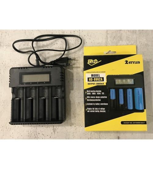 HD-8992A Универално зарядно за Li-ion батерии с дисплей