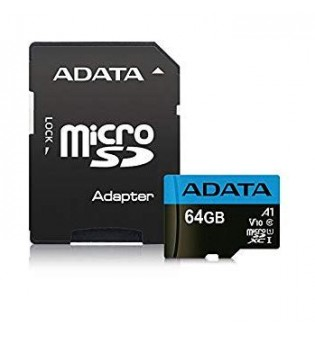 Flash Card ADATA 64GB MicroSDXC Class 10